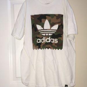 Adidas camouflage logo shirt